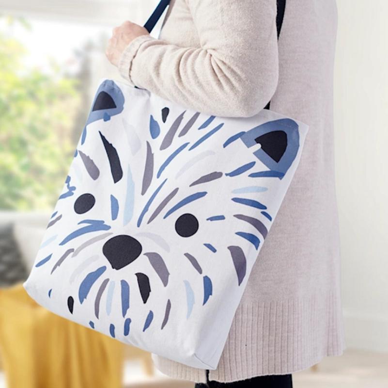 Vistaprint shopping bag
